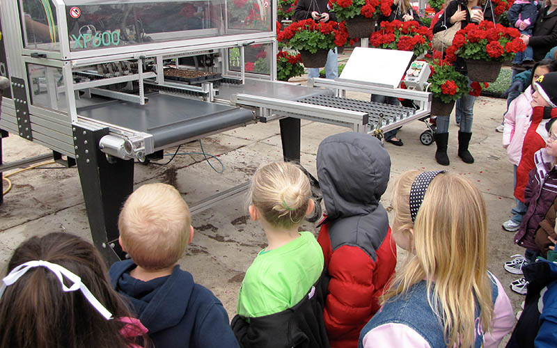 School Tours of Greenhouse