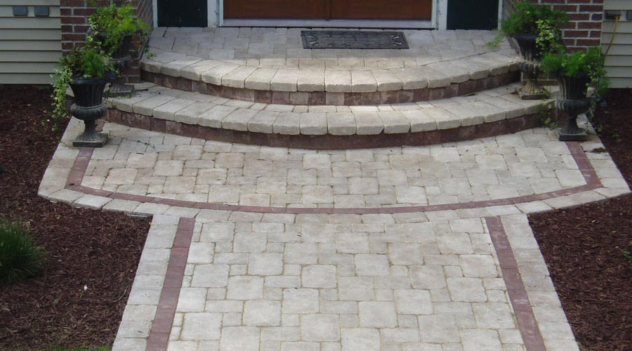 Quilting and Banding Pavers